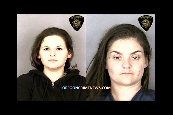 Molly Terwilleger age 26 and Mary Wiseby age 29 Salem Oregon Mughot